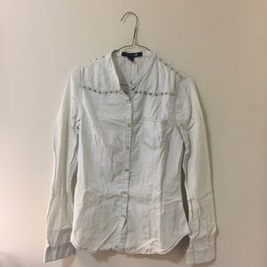 Forever 21 Cotton Button Down